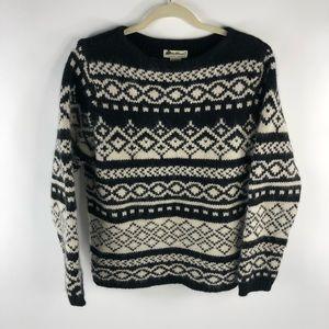 Vintage Eddie Bauer Christmas Sweater Lambswool